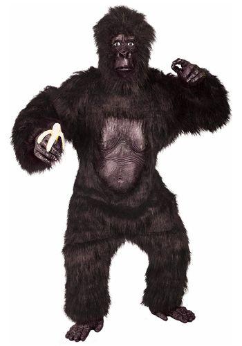 Hairy gorilla haloween costumes