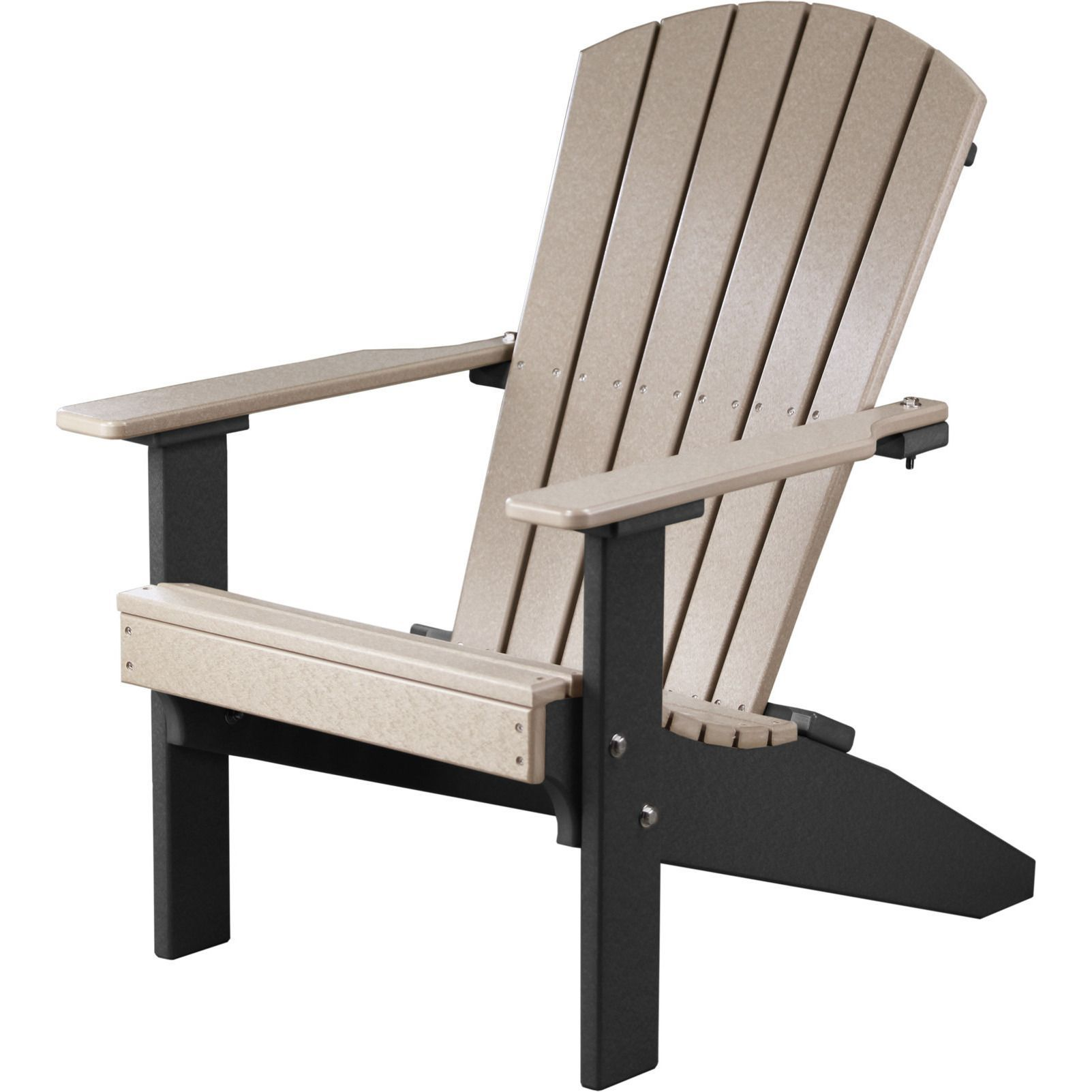 Luxcraft lakeside recycled plastic adirondack chair