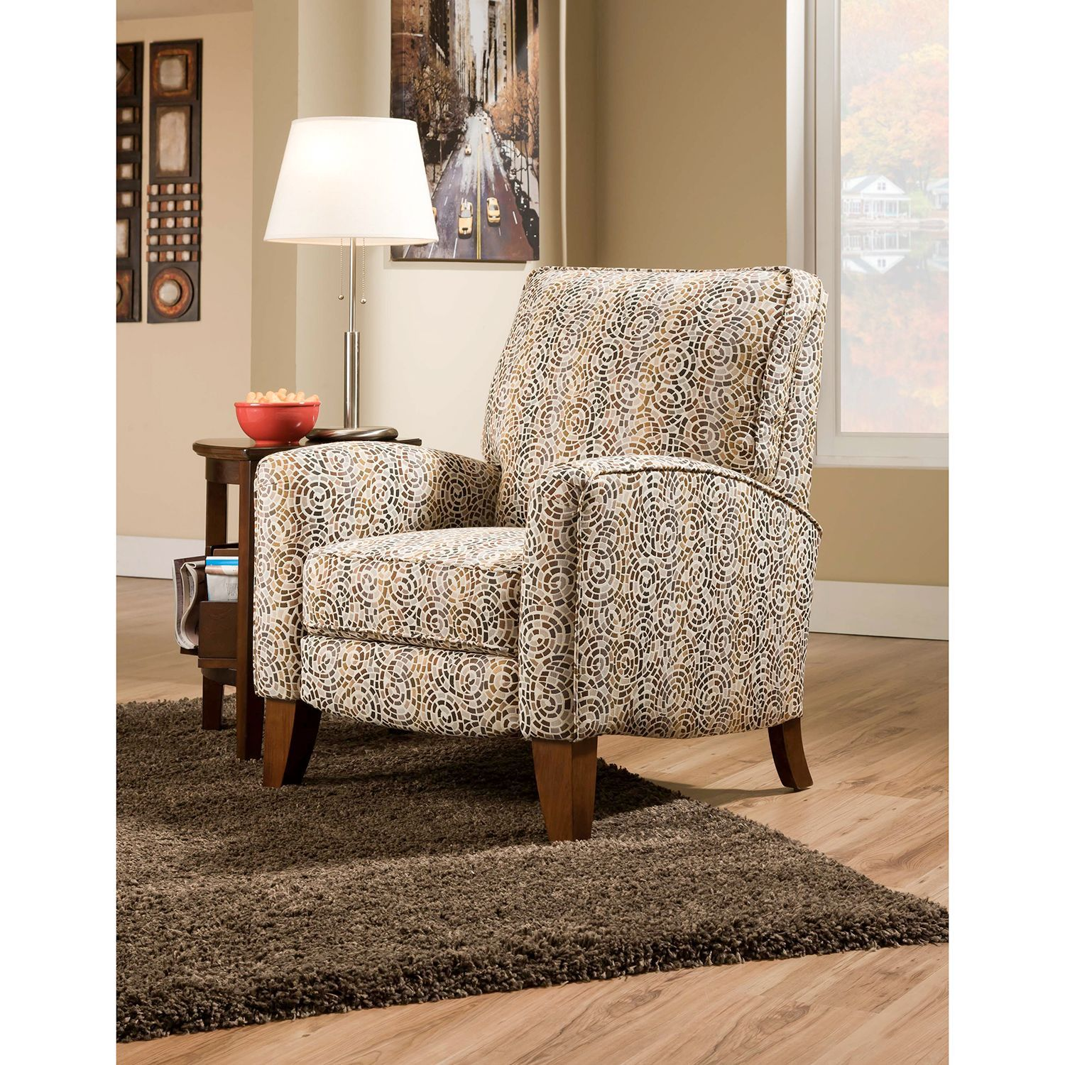 Gabbie Push Back Recliner  sc 1 st  Pinterest : push back recliner chairs - islam-shia.org