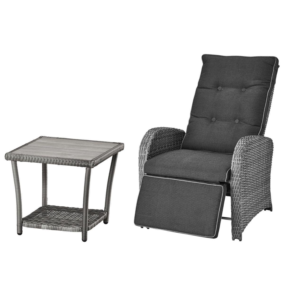 Gartenmöbel-Set Colombo (44x44, 1 Luxus-Komfortsessel, grau) Jetzt ...