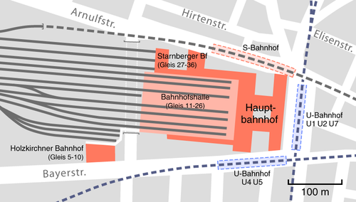 Image result for salzburg train station platform map