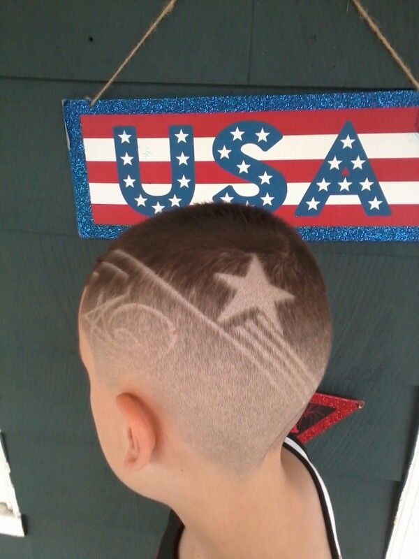 Usa Haircut For The Fourth Of July Stars And Stripes Food