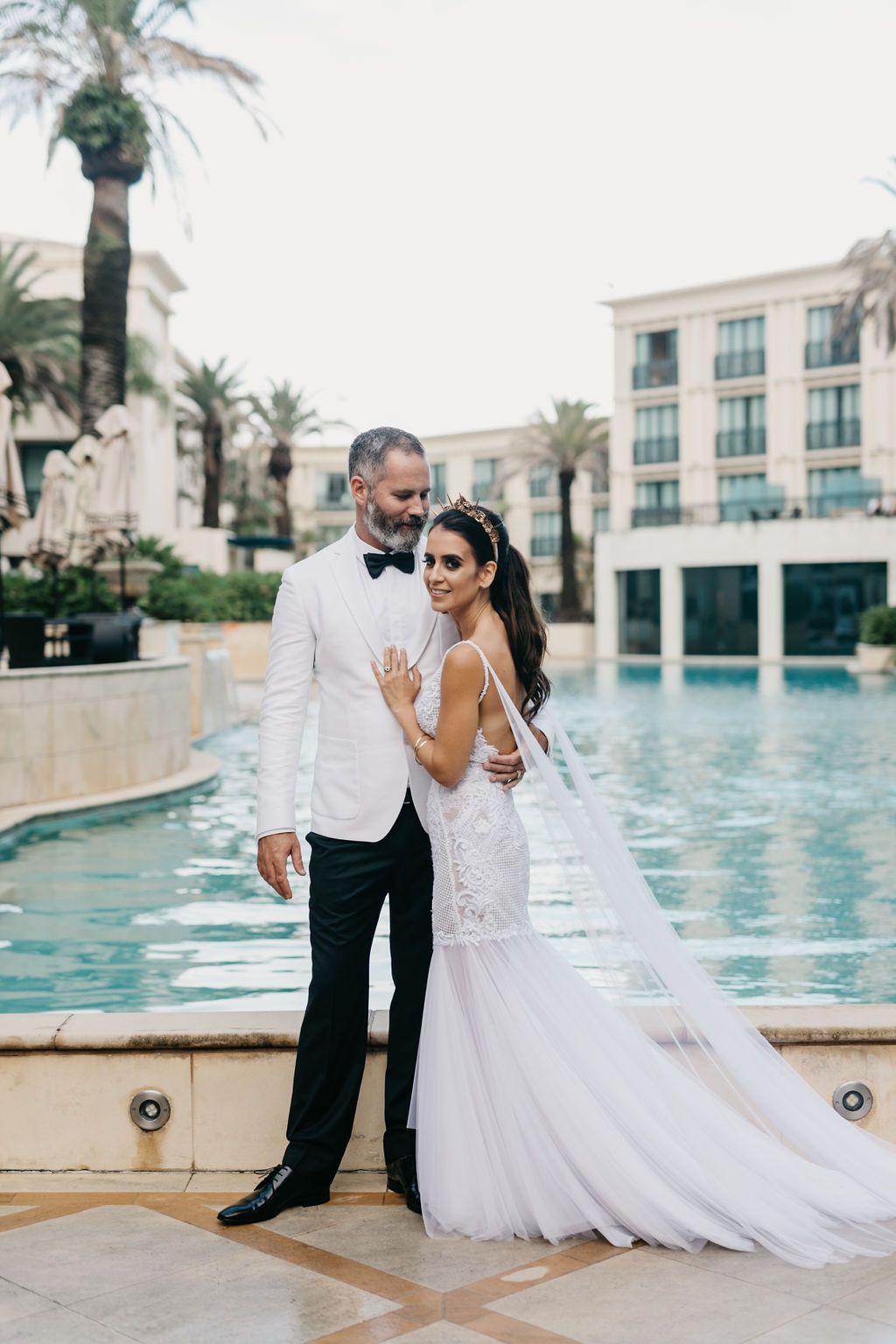 Claudia And Simon S Gorgeous Gold Coast Wedding What We Re