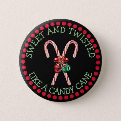 Funny Christmas Button Christmas buttons