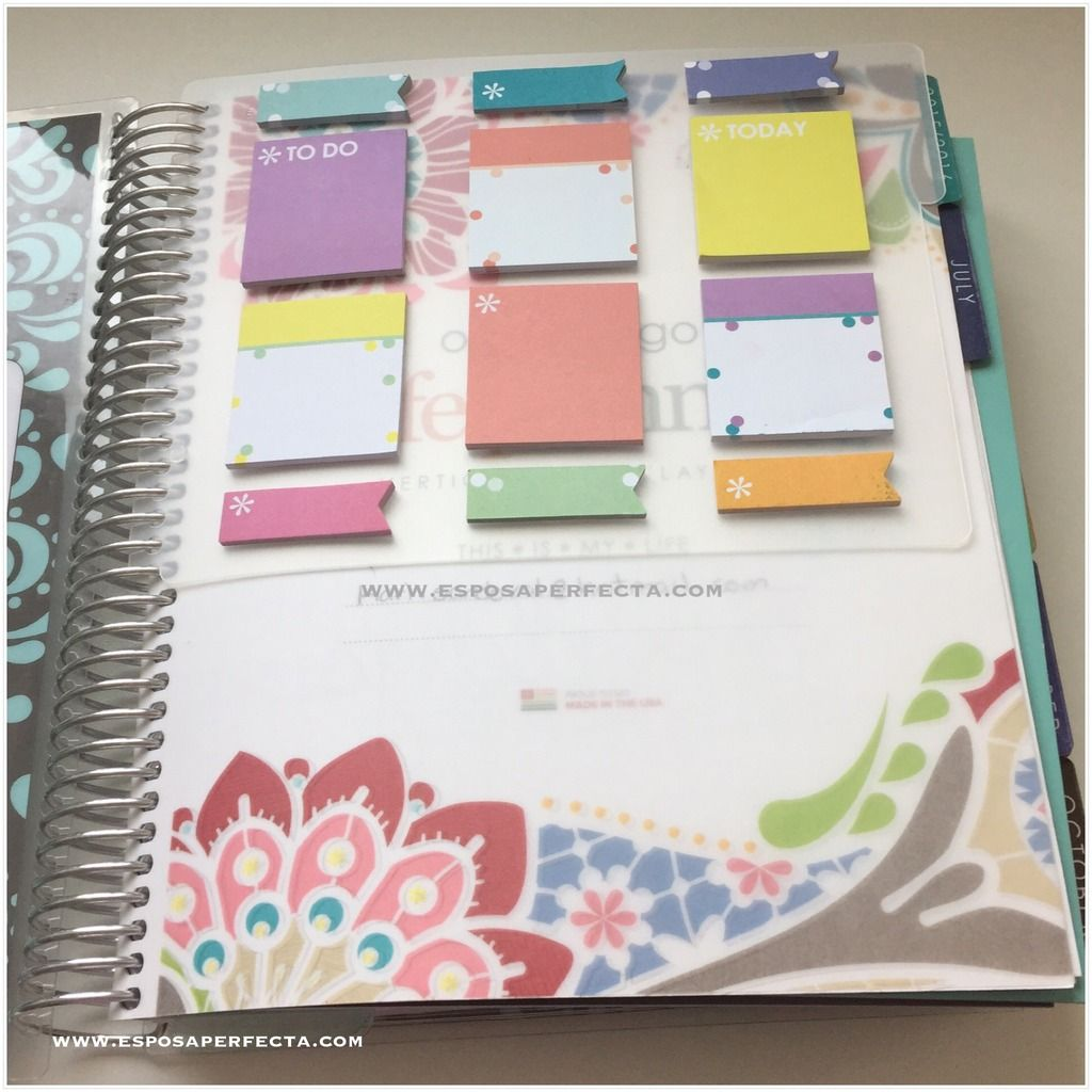 Erin condren dashboard planner community pinterest - Como decorar una agenda ...