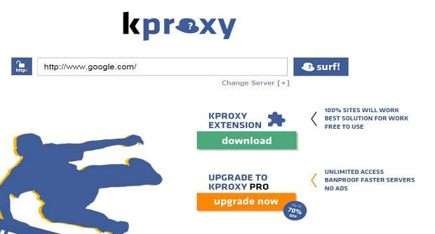 KProxy is the best web proxy that most used by interent users,They offer free anonymous web based proxy with fast speed.Their proxy support Https http://www.proxylistplus.com/listing/kproxy/