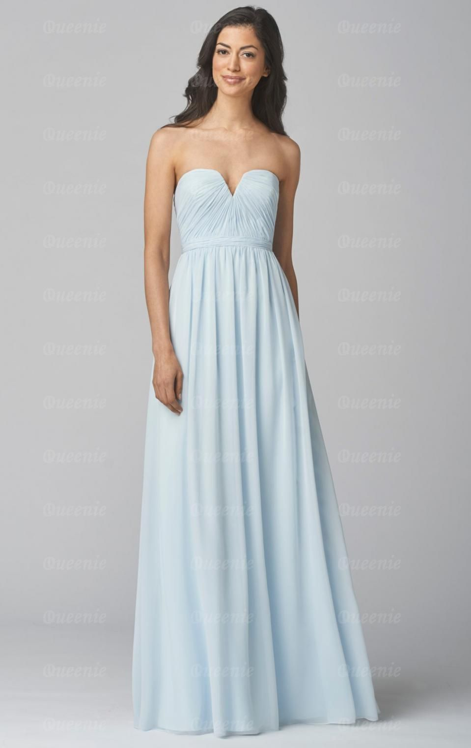 Perfect light blue bridesmaid dress wedding pinterest cheap perfect light blue bridesmaid dress ombrellifo Image collections