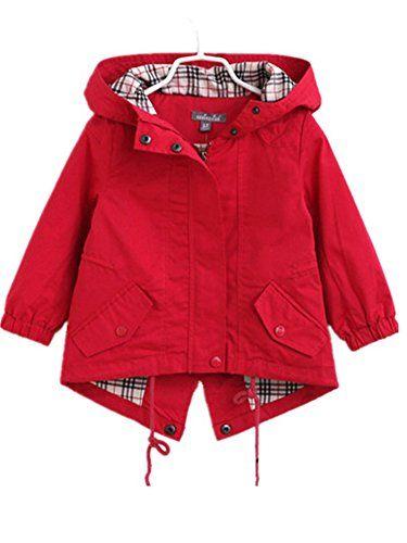 66738135461e David Nadeau Kids Jackets For Girls Spring Windbreaker Winter Girls ...