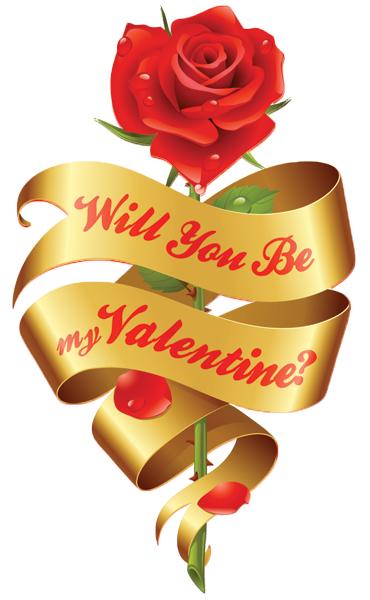 Be My Valentine Rose Valentine Emoticons Love