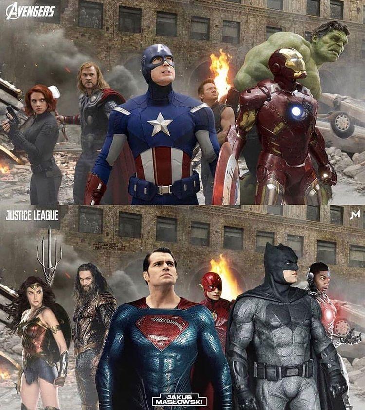 Roland Kassoev บน Instagram Avengers And Justice League Team Superman Wonderwoman Wond Avengers Vs Justice League Justice League Justice League Team