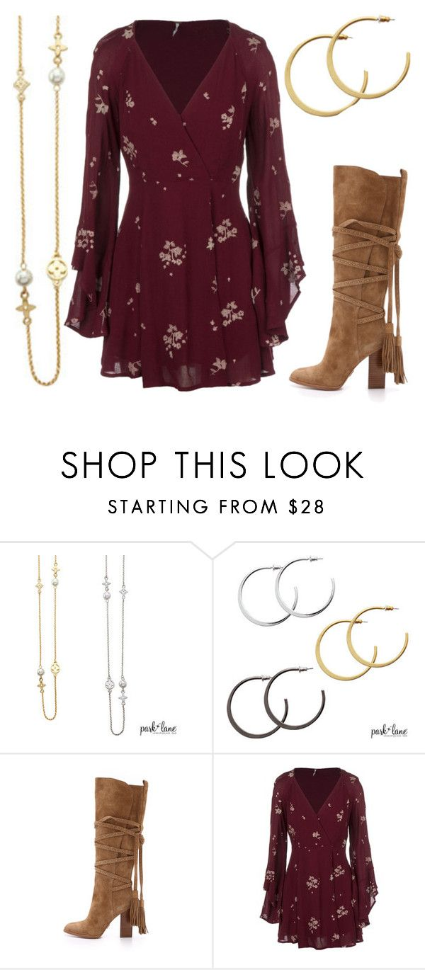 """""""Winter Boho"""" by parklanejewelry on Polyvore featuring Michael Kors and Free People"""