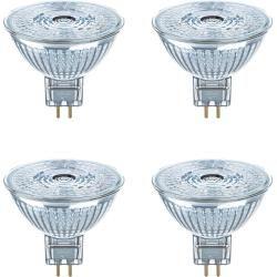 Osram Led Star Glas Mr16 Gu5.3 2,9w=20w 230lm Warmweiß 2700k Nondim A+ 4er-Pack Osram #neutraldecorating