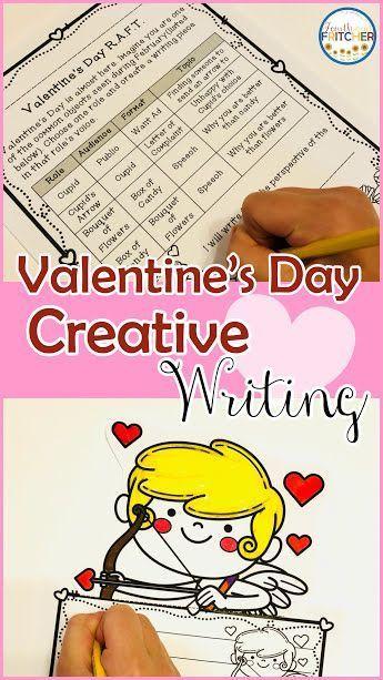 Valentine\'s Day RAFT Writing Activity   Bulletin board, Students ...