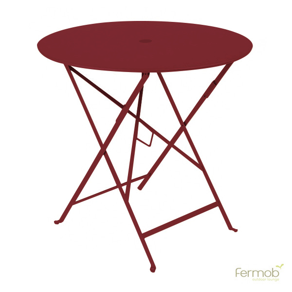 Fermob Bistro Round Folding Table - 30 x 30 | Products