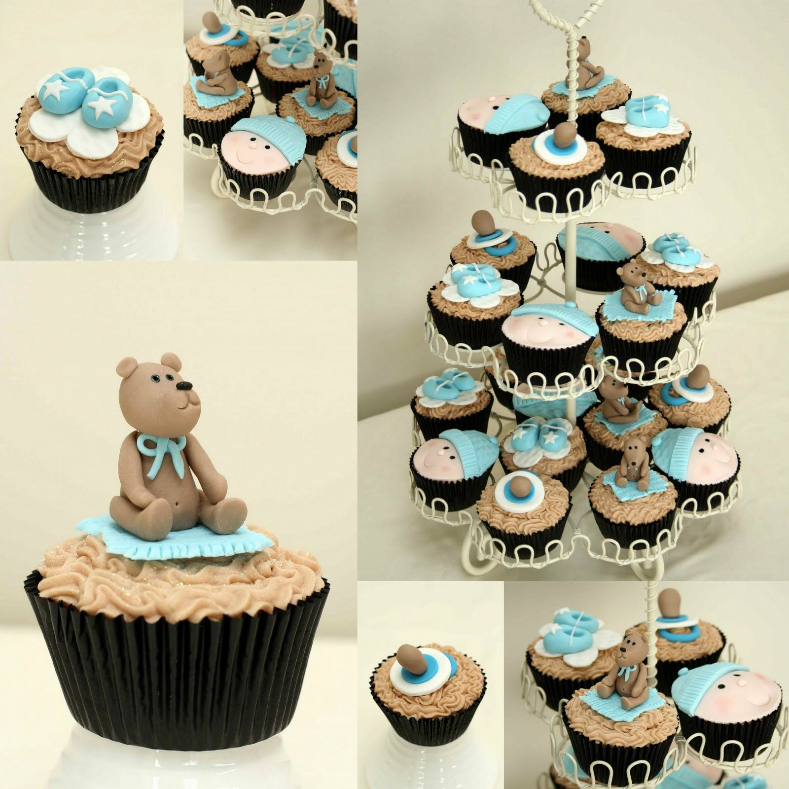 Beautiful Baby Shower Cupcakes For Boys