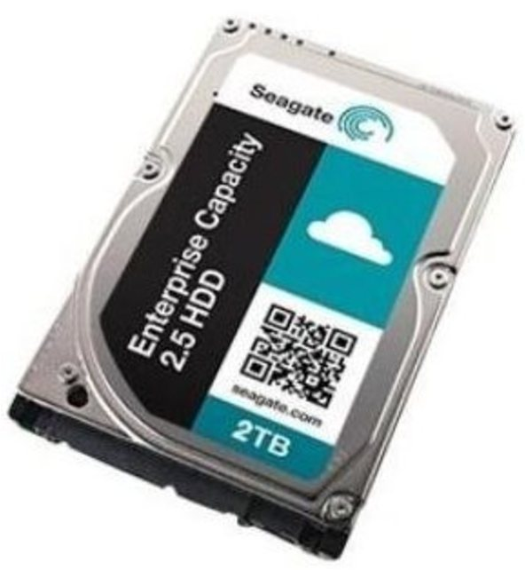 Seagate ST2000NX0333 2 TB Enterprise Capacity 2.5-inch 4KN SAS Internal Hard Drive with SED FIPS - 1