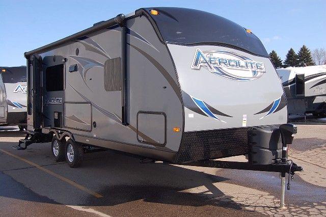 2013 Aerolite 225rbsl Single Slide Rear Bathroom Ultralight Travel