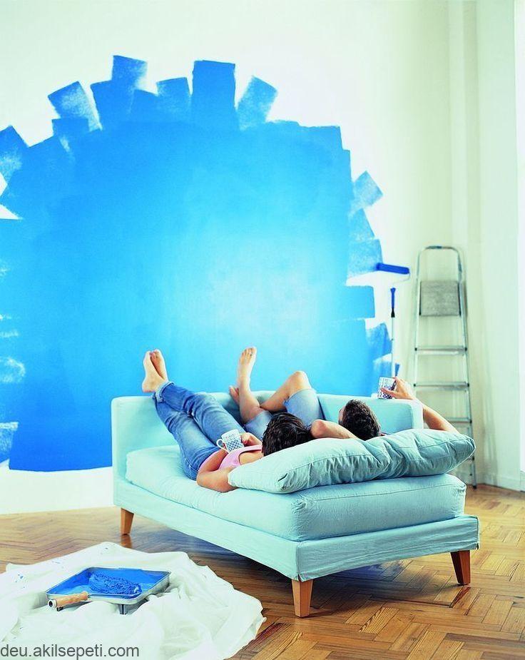 Was bewirkt die Farbe Blau im Feng Shui eines Zimmers