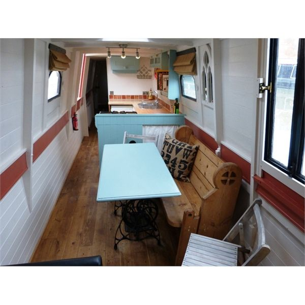 OCTARINE                           £39,950                                                                                  71ft 6ins (21.8m) Trad-stern Narrowboat 1979             with amidships engine room + Lister HRW3 engine             Built by Hancock & Lane       Re-fitted by owner 2010                                                                      HULL:                          Originally built to high standard with...