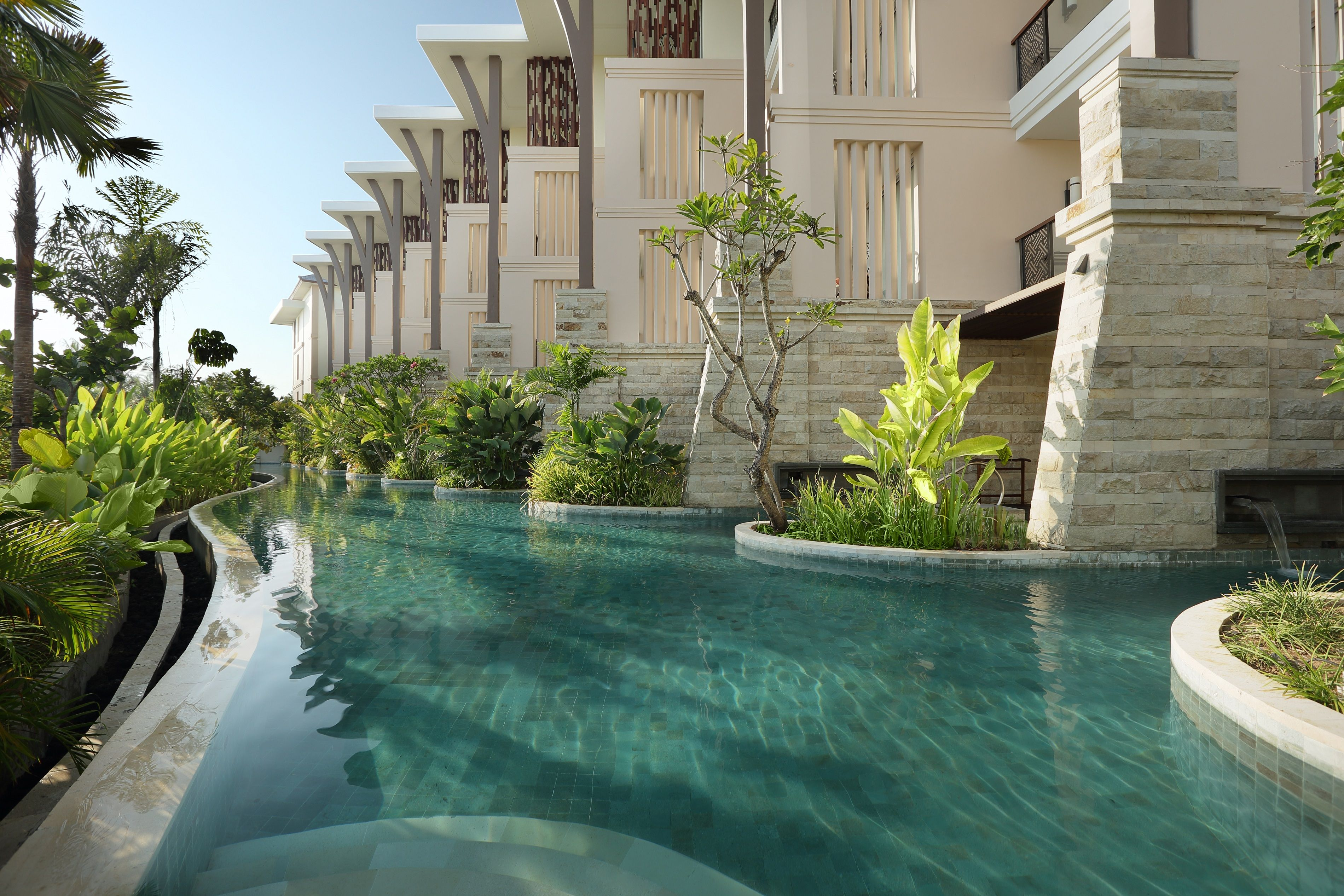 Direct Access To The Resort S Immense Lagoon Pool For Guests Staying At Luxury Room Pool Access