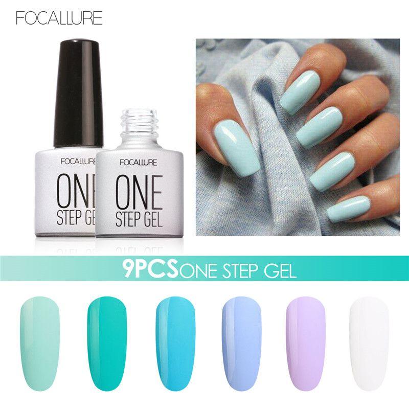Promo Choose 9 Focallure 80 Color Soak Off Uv Nail Gel Polish Salon ...