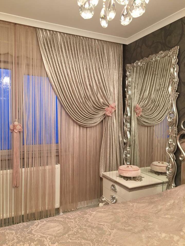 wwweperde/tul-perde curtains Pinterest Cortinas