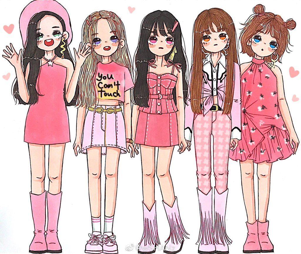 À¸—ว À¸•à¹€à¸•à¸à¸£ In 2020 Girls Illustration Red Velvet Wendy Red Velvet
