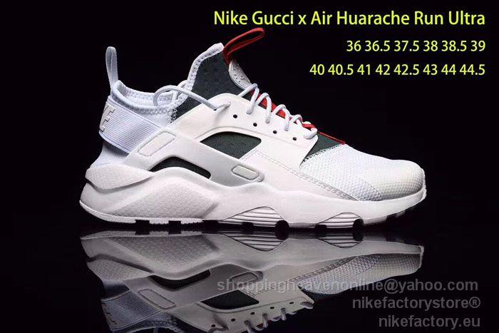 ... lowest price ef251 c48f2 GG x NIKE AIR HUARACHE RUN ULTRA 819685-103  WhiteGray ... 709ce9a5b