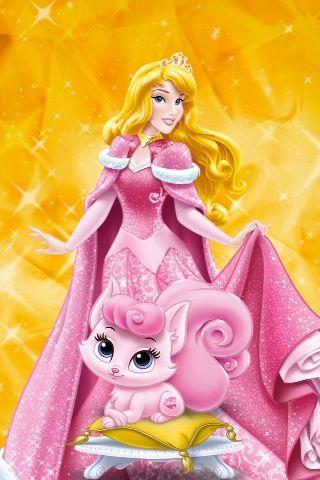 Disney Princess Palace Pets Putri Aurora Putri Disney Kartun