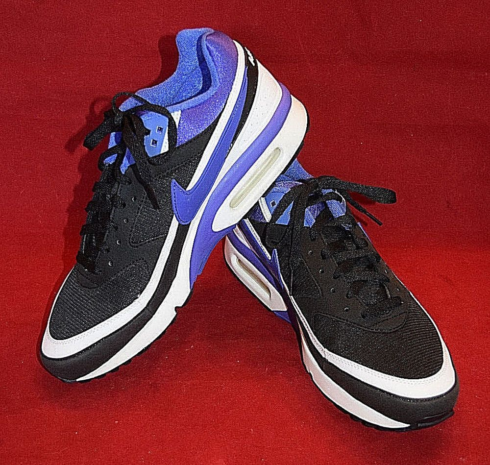 best website 19a21 f540c Mens Nike Air Max BW OG Shoes Black Persian Violet White 819522-051 Size 11  US  fashion  clothing  shoes  accessories  mensshoes  athleticshoes (ebay  link)