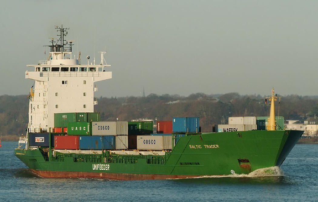 Small Container Vessel
