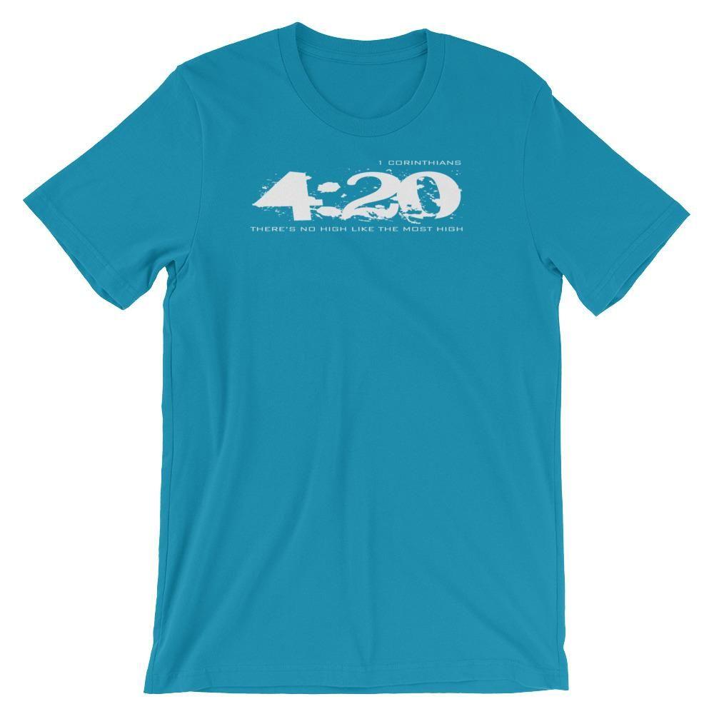 420 T Shirt (light) - Short-Sleeve Unisex Christian T-Shirt