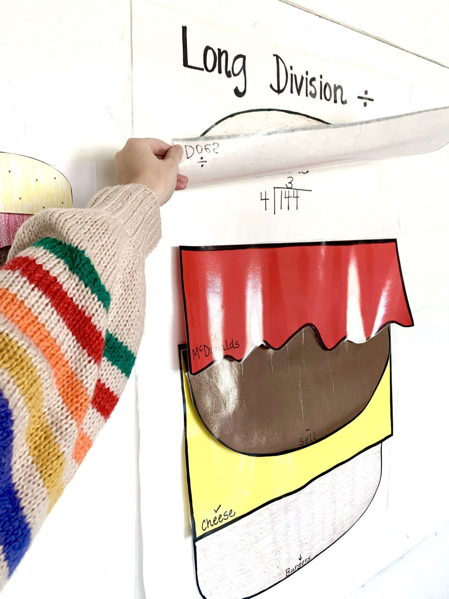Teacher Tuesday Cheeseburger Long Division