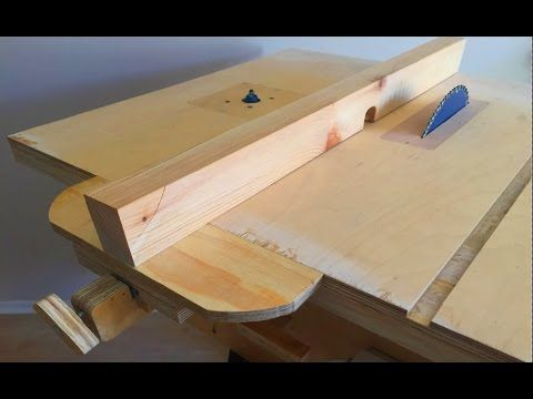 Making a homemade table saw fence router table fence tezgah making a homemade table saw fence router table fence tezgah testere paralellik mesnedi keyboard keysfo Image collections