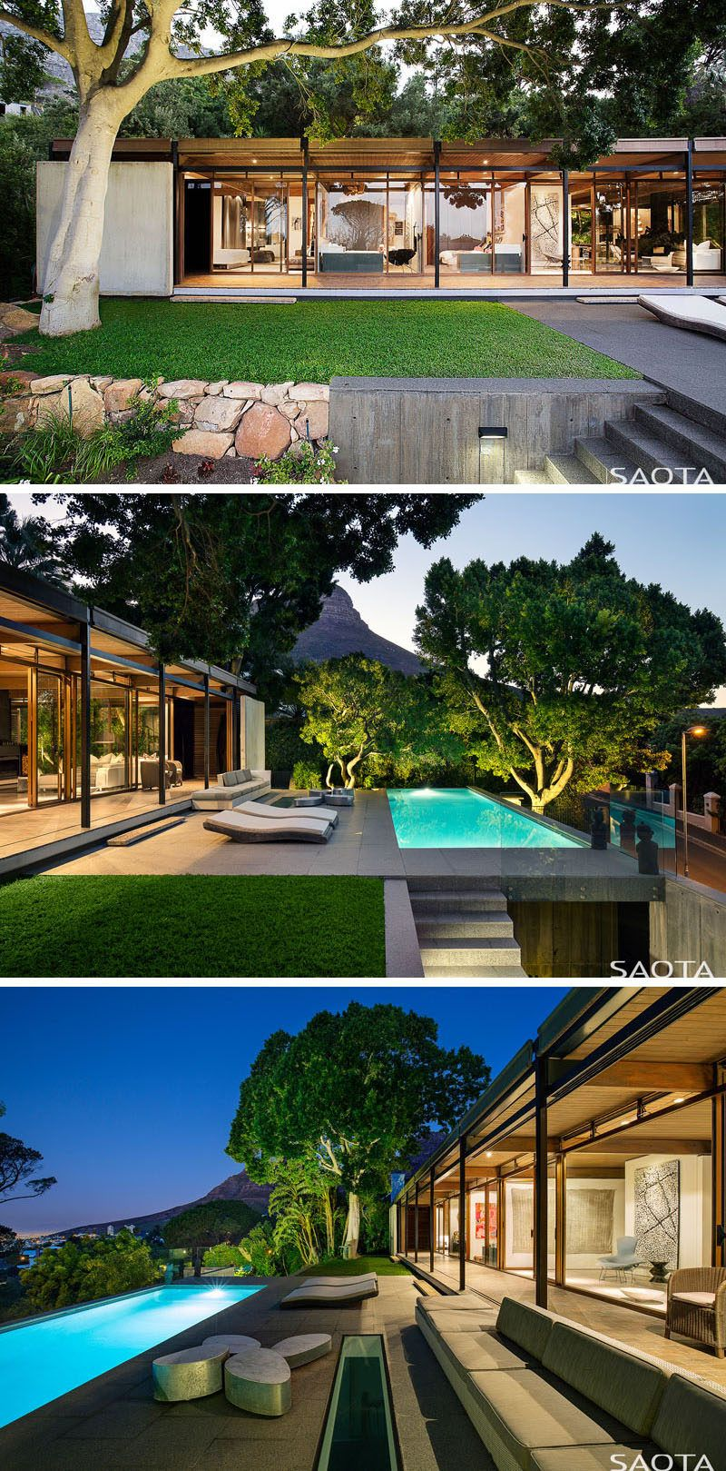 The Invermark House In Cape Town Has Been Given A Fresh Update By Saota House Plans South Africa House Designs Exterior Architecture House