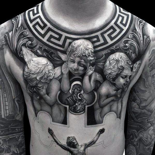 Top 51 3d Jesus Tattoo Ideas 2020 Inspiration Guide Jesus Tattoo Design Jesus Tattoo Chest Piece Tattoos