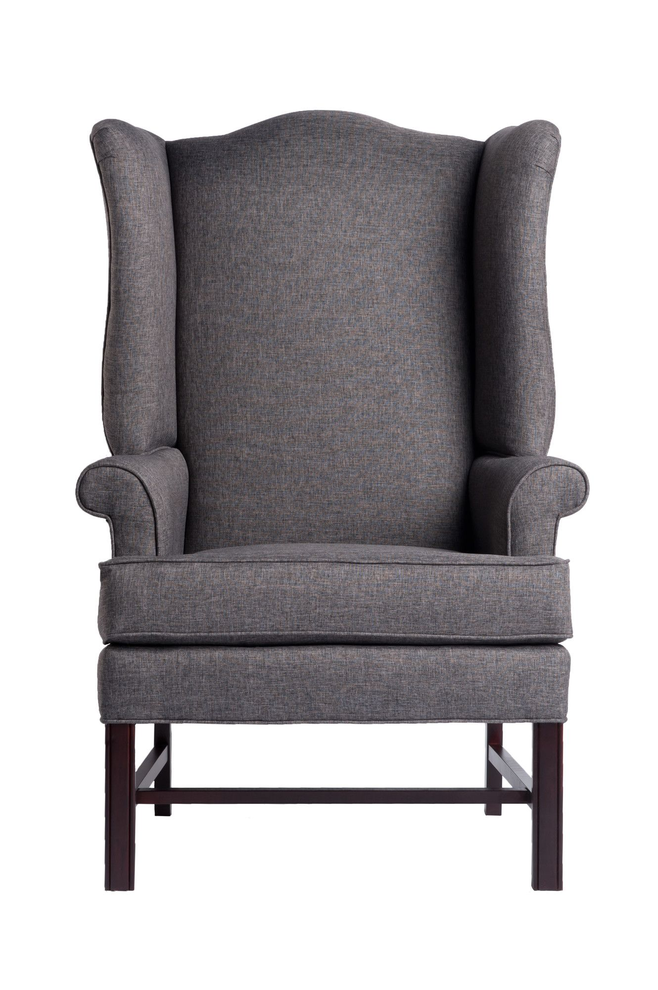 Comfort Pointe Jitterbug Chippendale Wingback Chair Wing