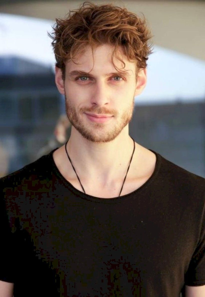 35 Best Curly Hairstyle For Men White Skin In 2020 Red Hair Men