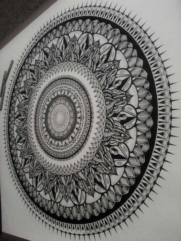 Pin by Betty Bone on Mandalas | Mandala drawing, Mandala ...