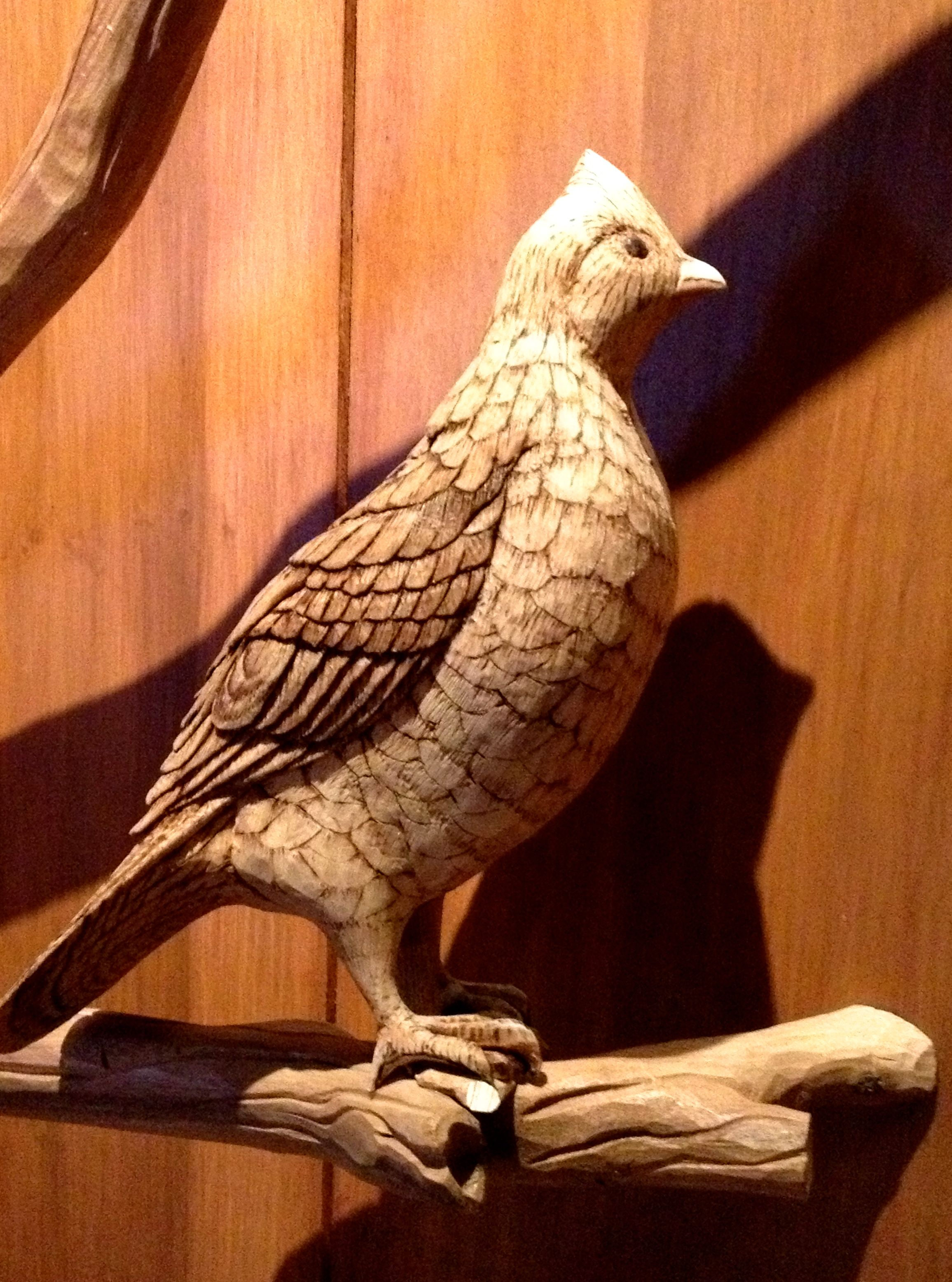 Wood carving bird woodcarving wows pinterest