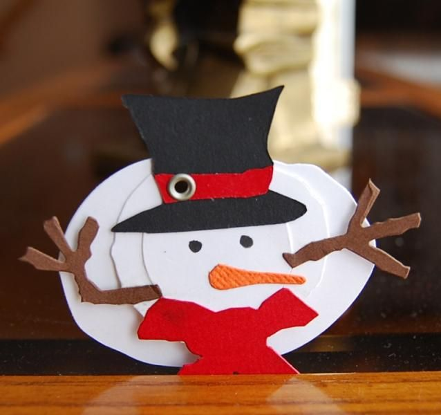 another Snowman Tag TLC