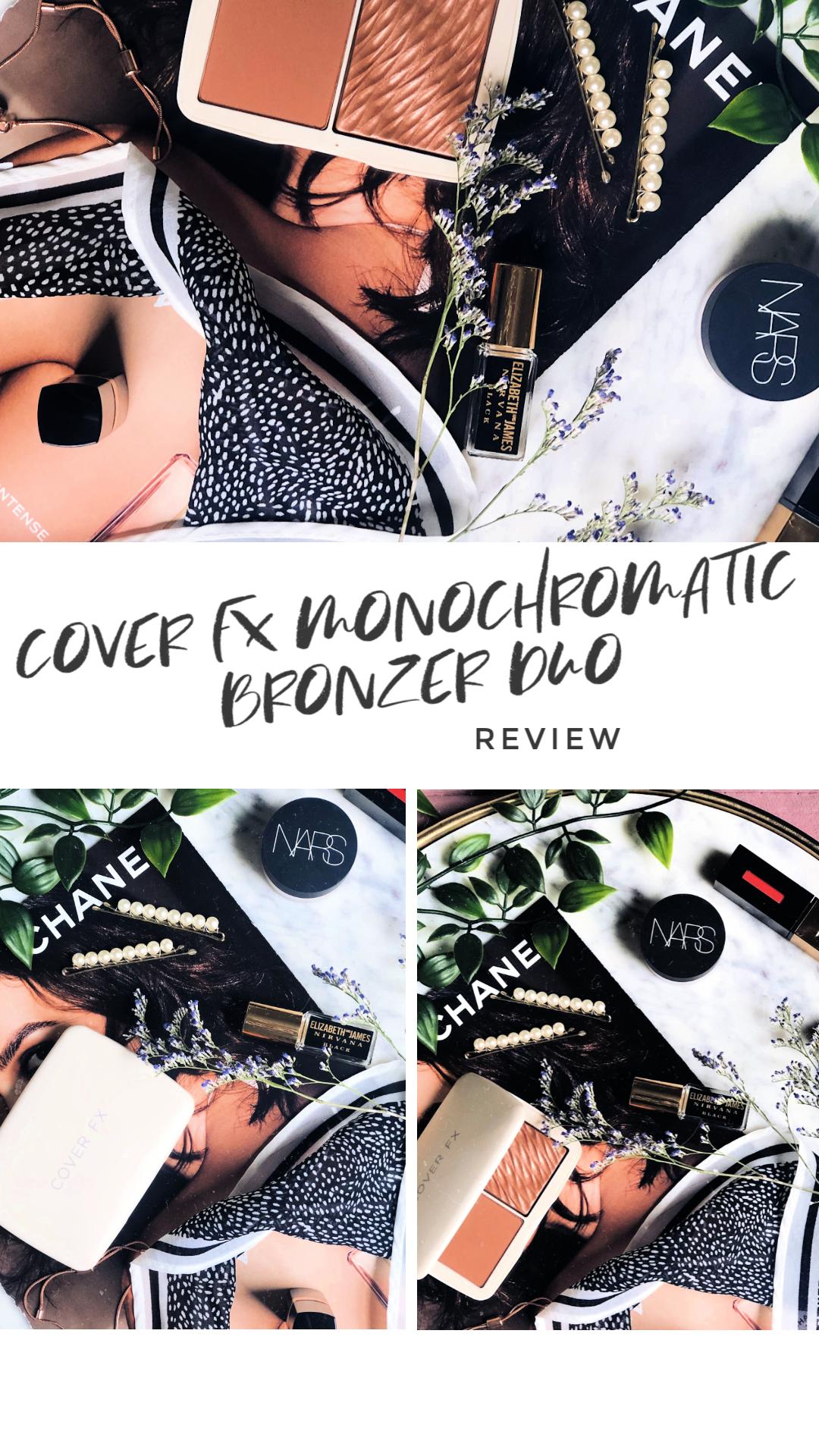 Cover FX Monochromatic Bronzer Duo Bronzer, Cover fx