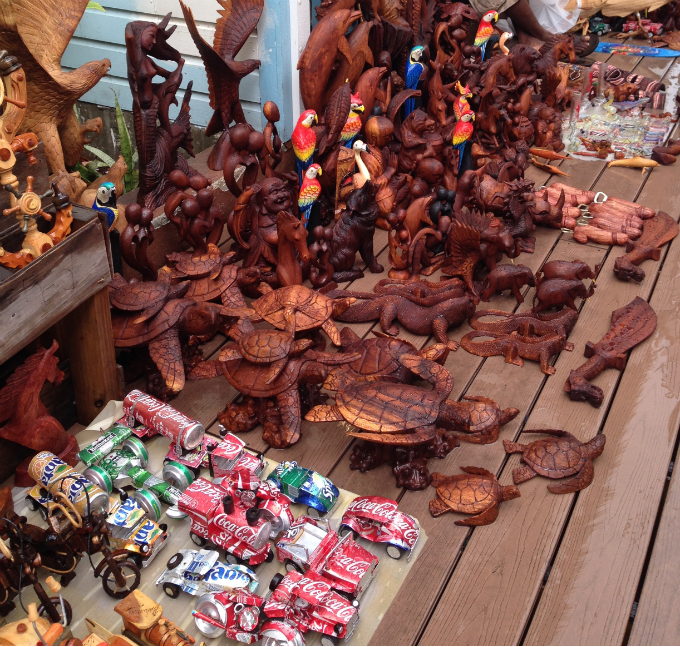 Must have souvenirs from nassau straw market family