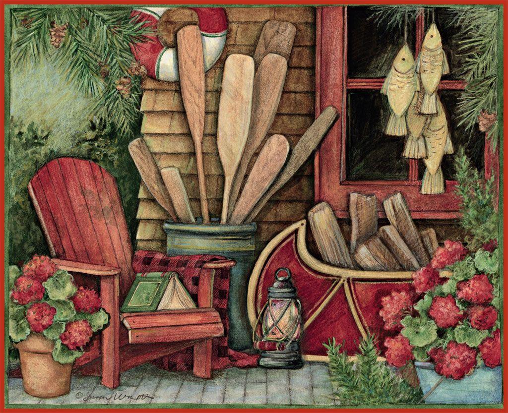 English Calendar Wallpaper : Lang june wallpaper heart home art
