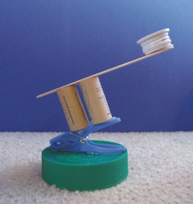 Catapult. We could make a game out of this at our family reunion.