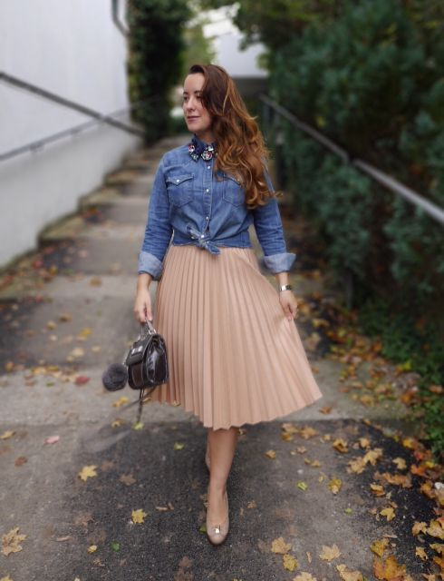 Saia Plissada – Como combinar e mais de 50 looks lindíssimos!