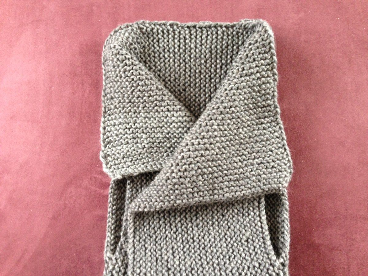 Crafting: eine moderne Weste stricken | Pinterest | Weste stricken ...