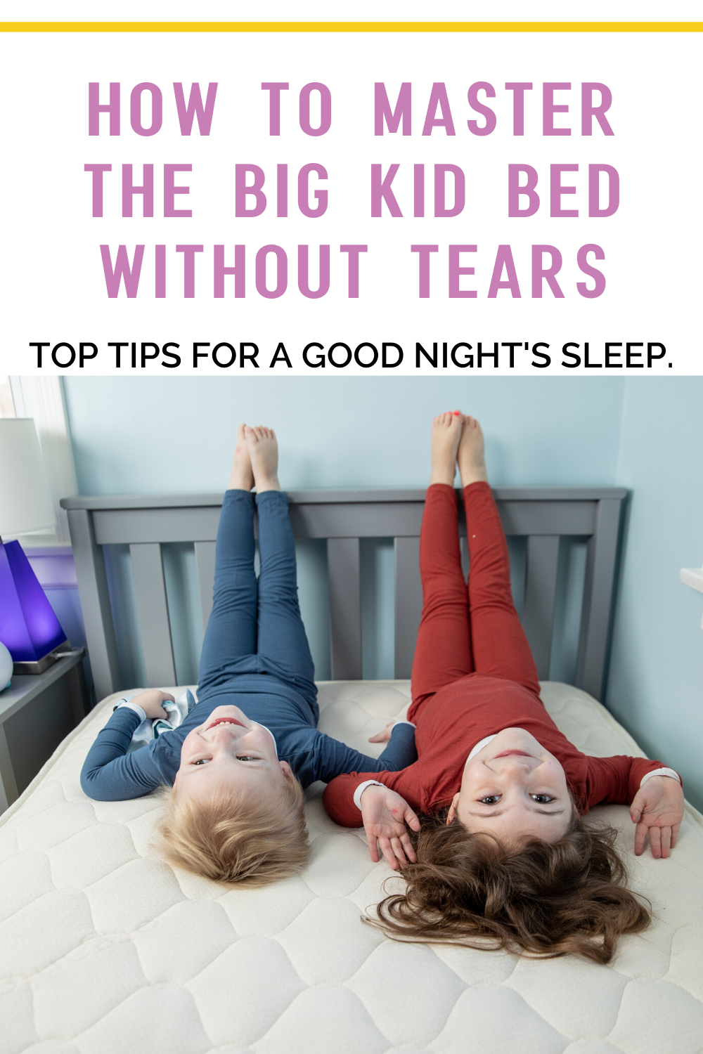 How To Master The Big Kid Bed With Naturepedic In 2020 Big Kid