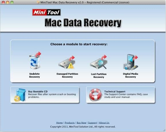 The Free Mac File Recovery Software Minitool Mac Data Recovery Is