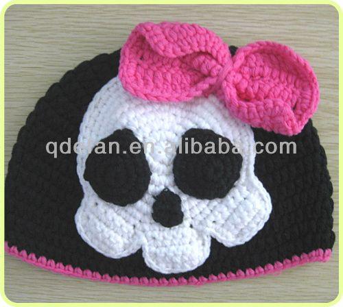 Ver gorros tejidos a crochet y de personajes animados - Imagui  51fe0849561